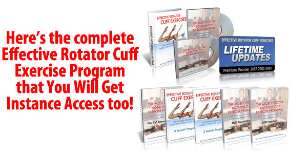 To purchase the effective rotator cuff exercise program will get